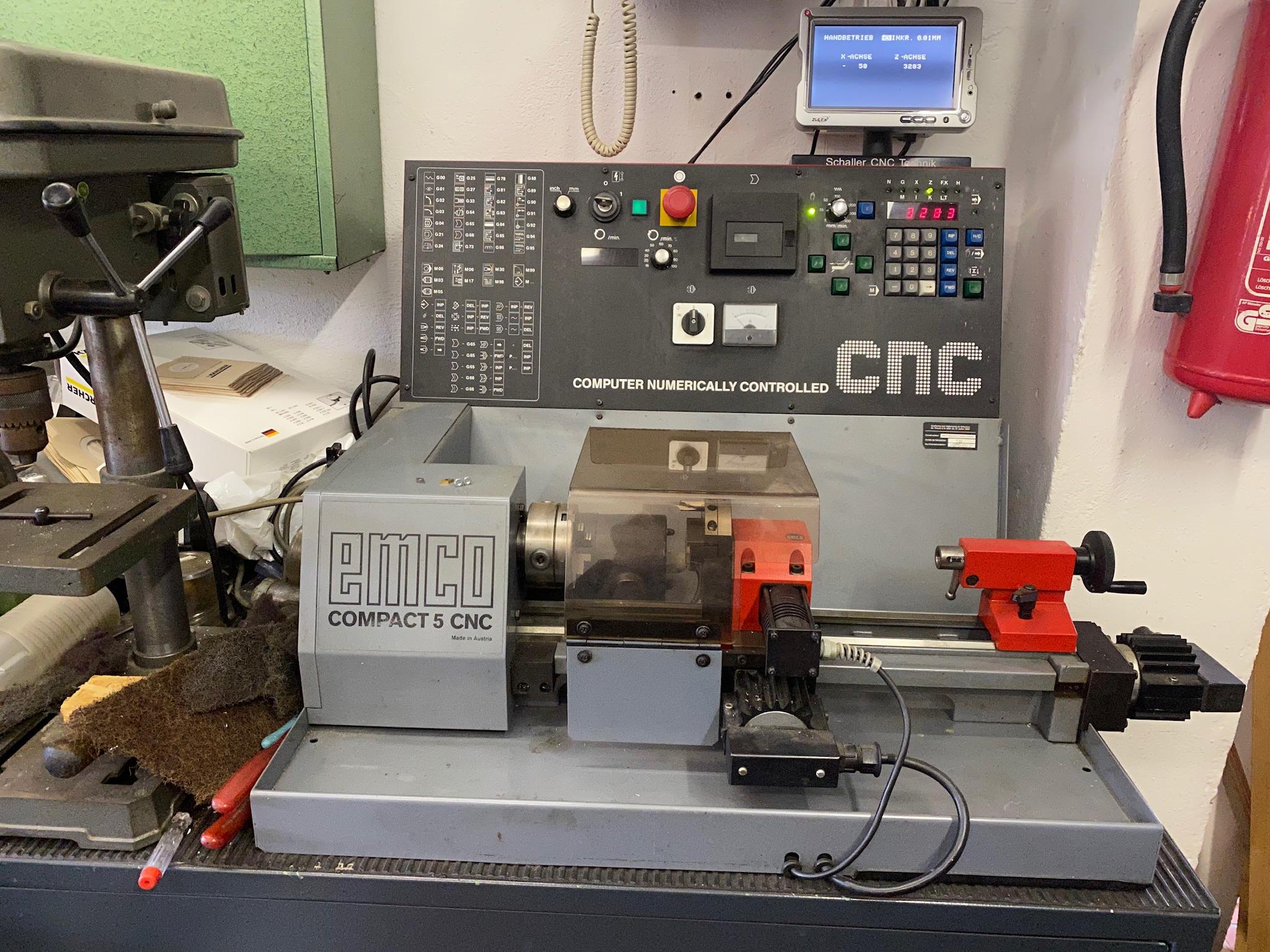 Compact 5 CNC