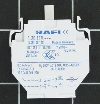 RAFI Kombi Schaltelement 1.20.119.017   5.00.100.105/0000 RAFIX 22/30