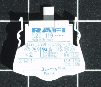 RAFI Kombi Schaltelement 1.20.119.002  5.00100.053/0000 RAFIX 22/30