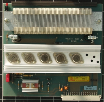 Bosch TR15-2 Ballastschaltung 038072
