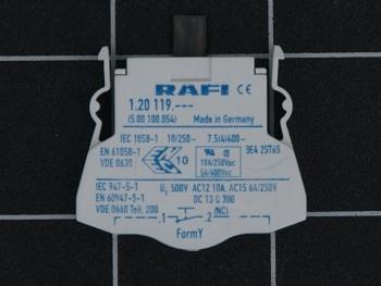 RAFI Kombi Schaltelement 1.20.119.001  5.00100.054/0000 RAFIX 22/30