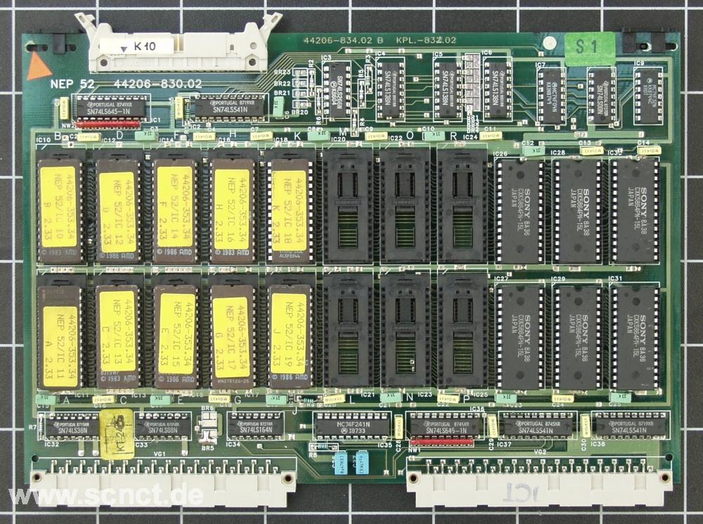 Deckel NEP52 EProm-Speicherkarte - SCNCT Onlineshop