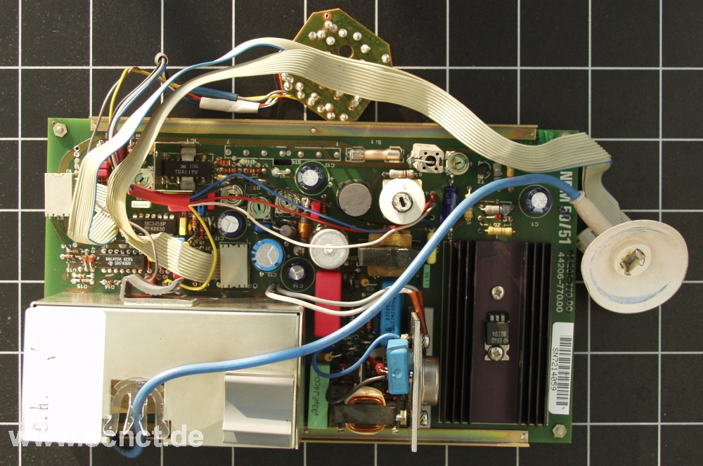 Deckel NDM51 Monitor Platine Board PCB Dialog 1234 - SCNCT