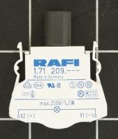 RAFI Kombi Lampenfassung BA 9s 1.71209.001 5.00070.021 RAFIX 22/30