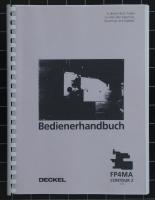 Deckel Bedienerhandbuch FP4MA mit Contour-2 Steuerung