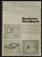 Deckel Bediener-Handbuch FP2NC, FP3NC, FP4NC mit Dialog-1 Steuerung