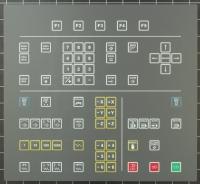 Tastatur (Keyboard) passend für Maho/Philips 432/10 Steuerung