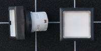 Drucktaster, beleuchtbar mit flacher Taste 1.30.070.201/1002 RAFIX 16