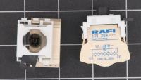 RAFI Kombi Lampenfassung BA 9s mit Trafo  1.71209.071/0000 RAFIX 22/30