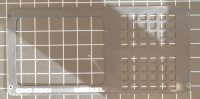Deckel CNC-2301 Bedienpultblende oben mit Gebrauchsspuren